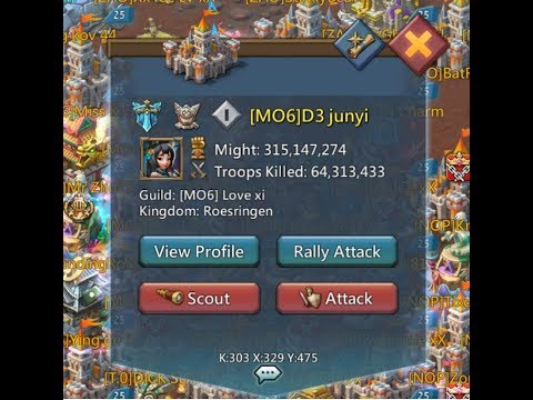 lords mobile : Zero player 690 m 6 rally
