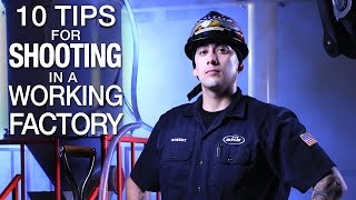 Download Lagu 10 Tips for Shooting in a Working Factory - Photo & Video Tutorial Mp3