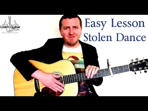 Stolen Dance – Easy Guitar Tutorial – Milky Chance – Beginner Friendly