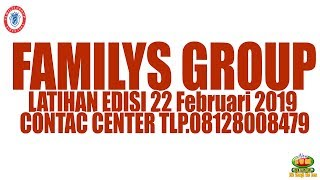 Video Latihan FAMILYS GROUP - Jum'at 22 Februari 2019 MP3, 3GP, MP4, WEBM, AVI, FLV Februari 2019
