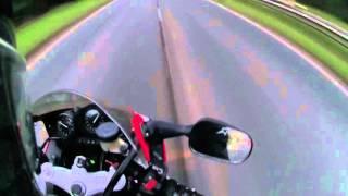 3. First ride Foxeye Honda Fireblade CBR900rr