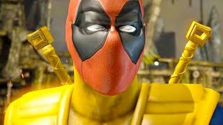 Mortal Kombat XL - All Klassic Fatalities on X-Men Deadpool Scorpion Costume Mod 4K Gameplay Mods