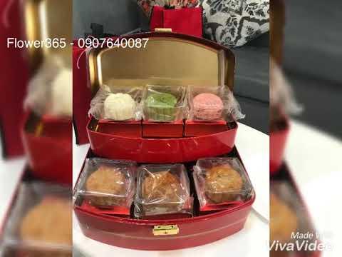Hộp Bánh Trung Thu CASAHANA Moonlight Treasure Tin Gift Set 2 tầng