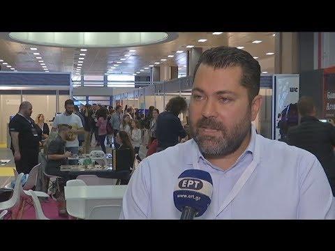 Ο υφυπουργός Ψηφιακής Πολιτικής, Λευτέρης Κρέτσος, στο Athens Games Festival 2018