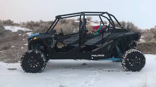 9. 2019 Polaris Rzr 4 Turbo!! Walkaround video!