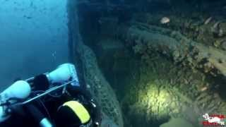 Arenzano Italy  City new picture : Wreck diving on the Milford Haven in Arenzano, Italy