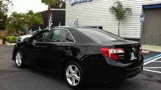 Autoline Preowned 2012 Toyota Camry SE For Sale Used Walk Around Review Test Drive Jacksonville