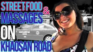 Delicious Street Food & Massages In Bangkok, Thailand