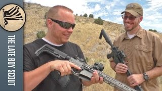 Is a $3000 premium, lightweight AR-15 really that much better than a $1000 AR-15? DocTacDad and I aim to find out. Check out ...