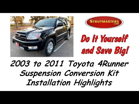 2004 Toyota 4Runner With A Front & Rear Suspension Conversion