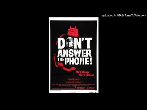 Don't Answer The Phone radio spot (1980)