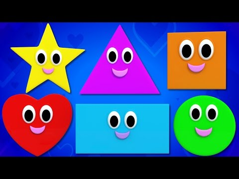 shapes song   shapes rhymes   we are shapes   shape song   shape songs for kids   Kids TV