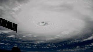 ISS passes over Hurricane Irma, Sept. 5