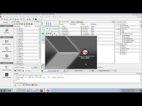 Hello World in Digilent Atlys Board using Xilinx ISE 14.6 with Xilinx EDK