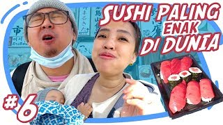 Video SUSHI PALING ENAK SEDUNIA TERNYATA DISINI - Japan Vlog #6 MP3, 3GP, MP4, WEBM, AVI, FLV September 2018