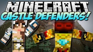 Minecraft | CASTLE DEFENDERS! (Create an Army!) | Mod Showcase [1.5.1]