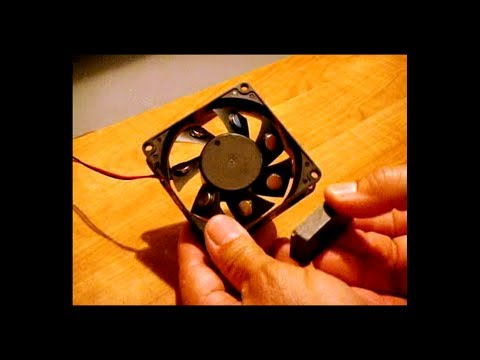 Free Energy ~ Case Fan Magnet Motor / Real or Fake?