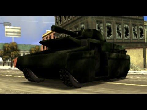 تختيم درايفر ليبرتي ستي ستوريز Grand Theft Auto Liberty City Stories سرقة دبابة الجيش .!   #17