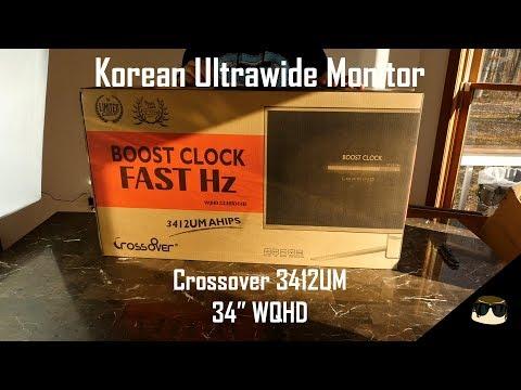 Crossover 3412UM Korean Ultrawide