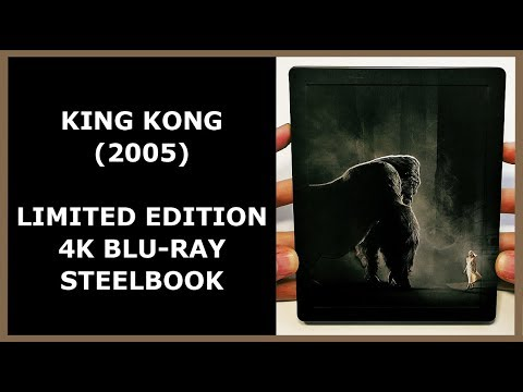 KING KONG (2005) - LIMITED EMBOSSED 4K BLU-RAY STEELBOOK UNBOXING
