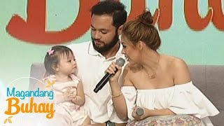 Video Magandang Buhay: Vino and Empress as parents to Athalia MP3, 3GP, MP4, WEBM, AVI, FLV Mei 2018