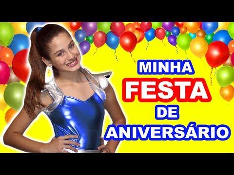 MINHA FESTA DE ANIVERSÁRIO DE 11 ANOS