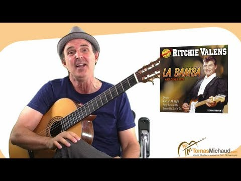 Guitar Songs To Learn 3 of 5 l Easy Song for Beginners – La Bamba