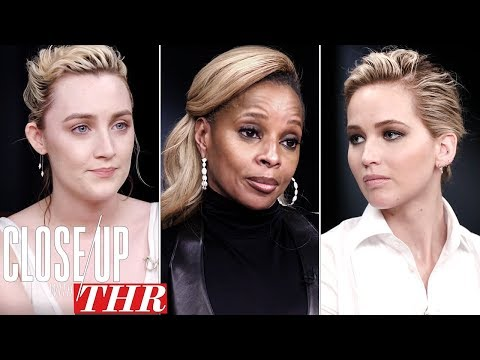 Full Actresses Roundtable: Saoirse Ronan, Jennifer Lawrence, Mary J Blige | Close Up With THR
