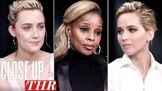 Video Full Actresses Roundtable: Saoirse Ronan, Jennifer Lawrence, Mary J Blige | Close Up With THR MP3, 3GP, MP4, WEBM, AVI, FLV Februari 2018
