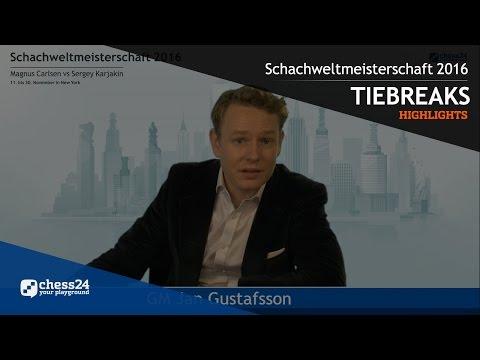 Schach WM 2016: Carlsen - Karjakin - Tiebreak - Zusammenfassung von Jan Gustafsson
