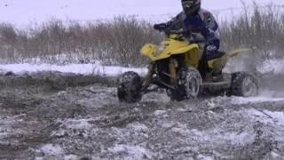 7. #1 Suzuki LTZ 400 Winter Time ATV Zima Śnieg Quad Quadsport Z400