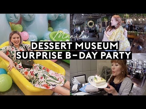 Manila🇵🇭 Dessert Museum, Meeting KAMP & Qtees from Twitter, Marriott Dining & Spa | DTV #113