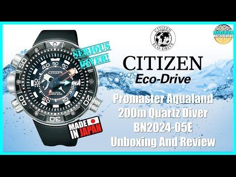 Legendary! | Citizen Promaster Aqualand 200m Quartz Diver BN2024-05E Unboxing And Review