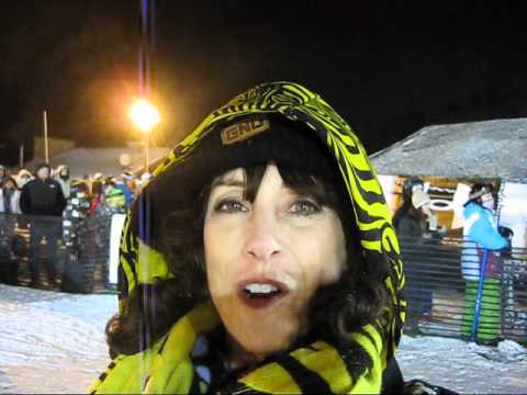 SnowboardSecretsTV - 3rd Rail Jam by Under Armour made its 2nd stop of the 8 stop 2011 tour at Mountain Creek, Vernon, NJ on January 8 2011. 150 snowboarders and skiers entered t...