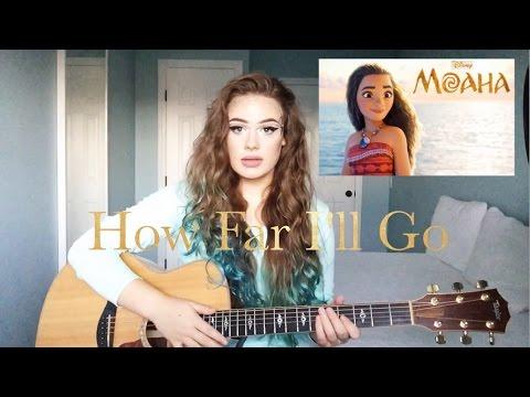 Video Disney's Moana - How Far I'll Go - Feat. Alessia Cara - (Alani Claire cover) download in MP3, 3GP, MP4, WEBM, AVI, FLV February 2017