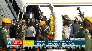 Video Remains of Mugabe arrive in Harare MP3, 3GP, MP4, WEBM, AVI, FLV September 2019