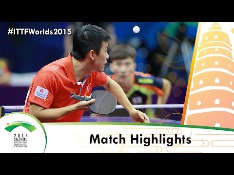 WTTC 2015 Highlights: TANG Peng vs LEE Sangsu (R 16)