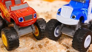 Blaze and Crusher, let's build a new Blaze and the monster machines track! But a stione blocks the road, we need to use ToyMaster and remove the stone with Blaze toys. Watch toy cars videos and play with Blaze and monster machines. Find us in VK https://vk.com/kidsfirsttvFacebook https://www.facebook.com/KidsFirstTVand https://www.facebook.com/KapukiKanukiWelcome to the #ttoyzz channel! Play with #toysforboys and #toysforgirls. Watch #toyschannel with differents toys: #tayolittlebus toys, #legotoys and other toys for boys and girls.Subscribe here https://www.youtube.com/c/TToyzz and play with toys!Tayo the little bus English cartoon for kids and find Tayo English stories here https://www.youtube.com/watch?v=AecrvXLwZJc&list=PLcydIP1OHtnyY9-qObw5Y-i64bkOlovli