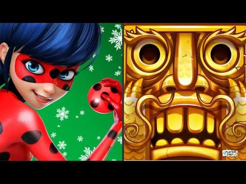 Miraculous Ladybug & Cat Noir 🐞 VS Temple Run 2 🏮LOST JUNGLE - LANTERN FESTIVAL!
