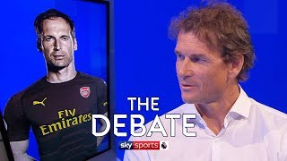 Should Petr Cech be dropped for Bernd Leno at Arsenal? | The Debate | Jens Lehmann and Paul Merson
