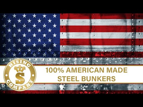 bunker - Video rendering of a Rising S steel bunker. This bunker is 10'w x 50'l x 7'h. Made from 100% steel; these units offer several upgraded features such as NBC a...