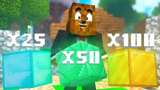 Minecraft - 4-Player Rhodonite Weapon Mod Gold Rush Modded Minigame | JeromeASF