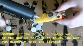 DIY Punk Lighter Tutorial Scary Cute Inspired Halloween Project! - YouTube