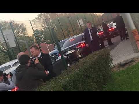 Uroczyste przywitanie prezesa Kaczyńskiego w Krośnie. Tak należy witać PiS w całej Polsce.
