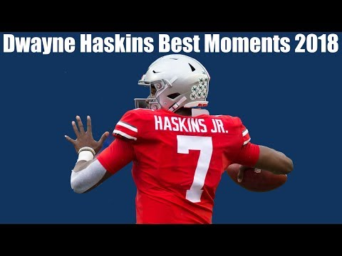 Dwayne Haskins Making NFL Caliber Throws/Runs Montage