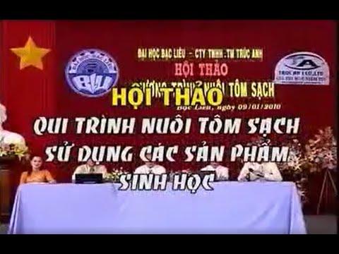 Hội thảo 5 tỉnh ĐBSCL về Qui Trình Nuôi Tôm sạch
