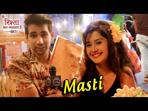 Gayu, Naksh & Mishti's Off Screen Masti in ये