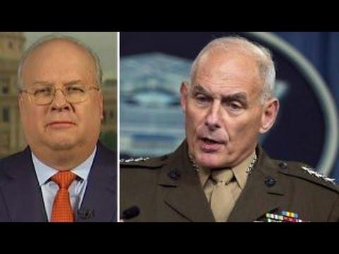 Too many generals? Rove blasts critics of Trump's Cabinet