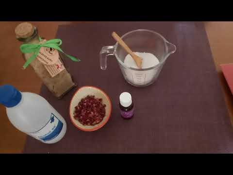 Video elaboración de sales de baño relajantes 1