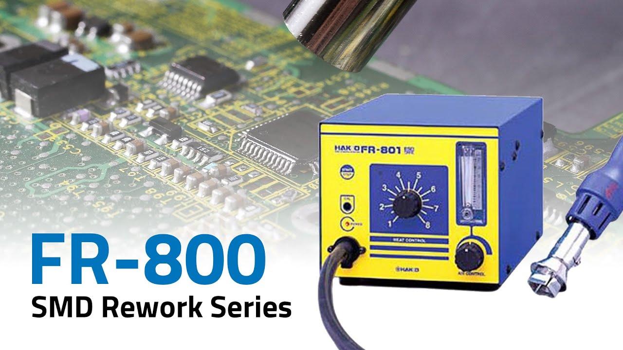 FR-800 Series Hot Air Rework Stations